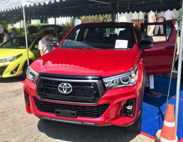 2018 2019 Toyota Hilux Revo Rocco Exporter Importer